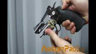 Win Gun Revolver CO2 2,5 Inch Silver