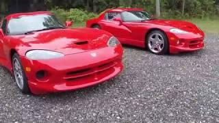 Dodge Viper GTS design compared to the RT10