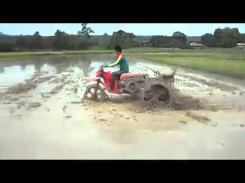 คลิปร้อน --- รถไถ DIY ฝีมือคนไทย