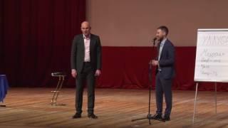 Выступление Радислава Гандапаса на мужской конференции