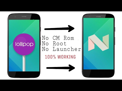 Install Android 7.0 Nougat In Any Android Device [ No Root ]