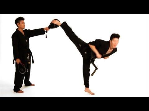 How to Do a Spinning Hook Kick | Taekwondo Training - YouTube