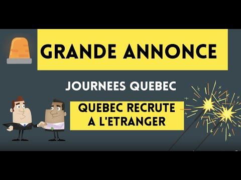 Préparez-vouz!! Québec Recrute Des Travailleurs étrangers -  Immigration  Canada
