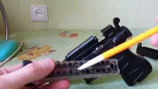 Дефекты пневматического пистолета Skif A-3000