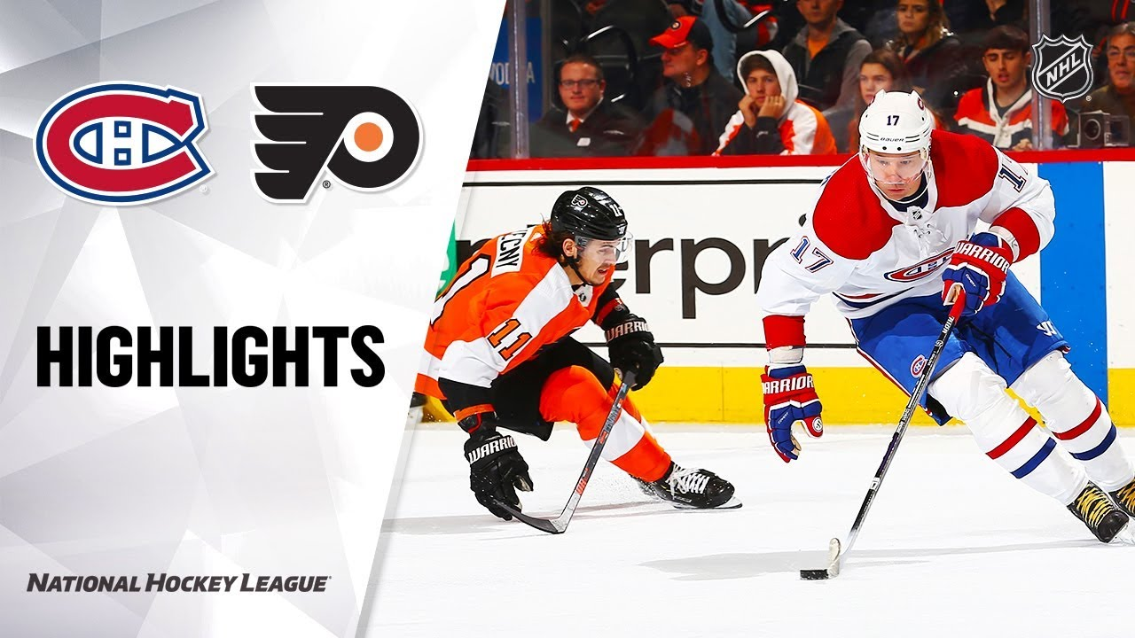 NHL Highlights | Canadiens @ Flyers 1/16/20