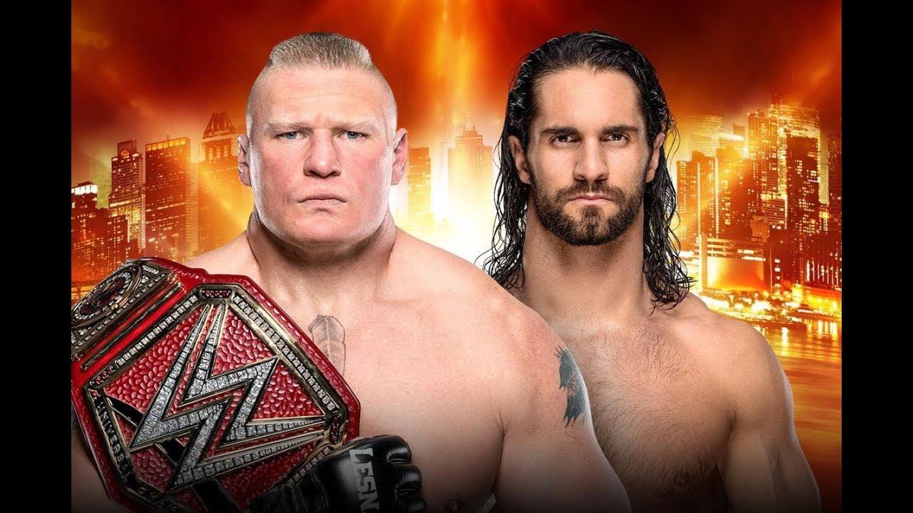 Download Brock Lesnar vs Seth Rollins full Match 7 April 2019 WrestleMania 35 HIGHLIGHTS HD