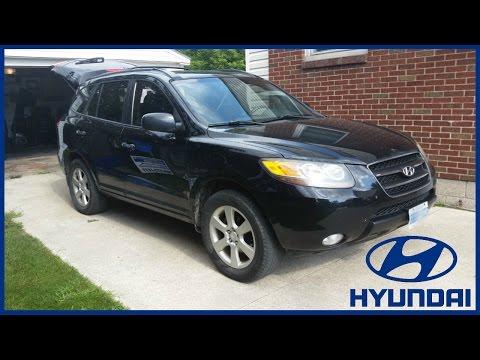 09 Hyundai Santa Fe Cranks Intermittent No Start Burnt Fuel Pump