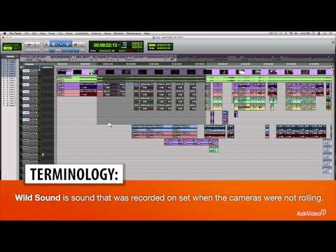 Pro Tools 302: Dialog Editing For Film  TV – 1. Session Layout: Anatomy of a Post-Production Project