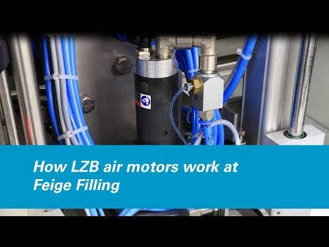 How LZB Air Motors Work At Feige Filling GmbH, Germany