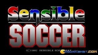 Sensible Soccer gameplay (PC Game, 1992)