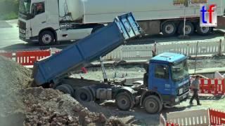 Mercedes-Benz Actros 3244 Dump Truck / Kippt ab, Schorndorf, Germany, 06.05.2016.