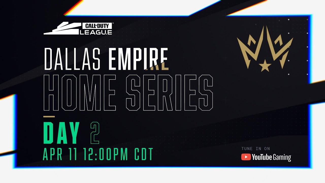 Call Of Duty League 2020 Season | Dallas Empire Home Series | Day 2