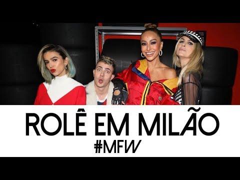 Rolê em Milão na #MFW com Sabrina Sato, Manu Gavassi, Julia Faria e Leo Picon