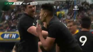 Highlights of All Blacks against Springboks