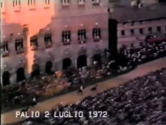 Palio 2 luglio 1972