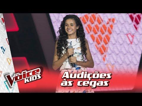Poliana Guaratuba canta 'Eu Sei de Cor' na Audição – 'The Voice Kids Brasil' | 3ª Temporada