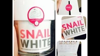 泰國Snailwhite,Snailwhite Mist, Kiss whitening collegen mask良心分享 Thumbnail