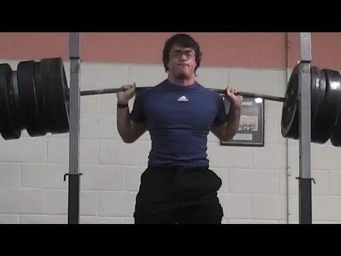300kg/661lbs Pause ATG Backsquat 100% RAW