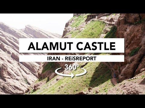 360° Alamut Kasteel in de Alamut Vallei (Iran)