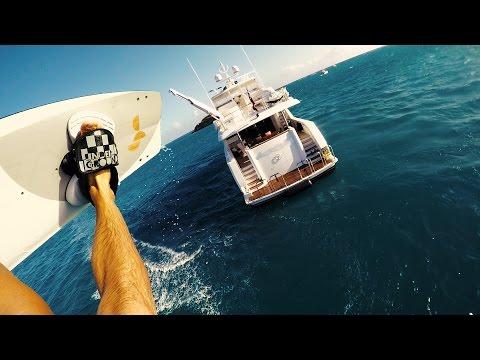Yacht Kiteboarding - POV Style