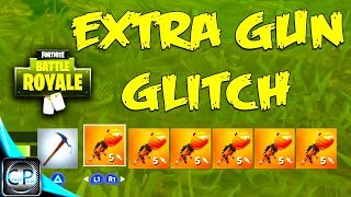 BONUS GUN GLITCH! (Fortnite Battle Royale)
