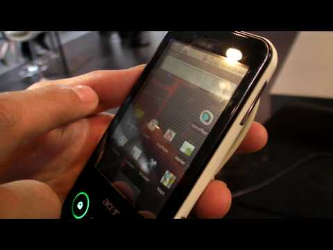 Acer beTouch E400 at Mobile World Congress 2010