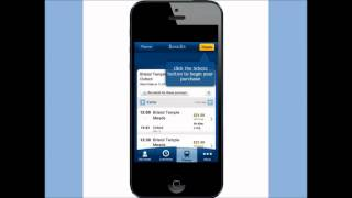 How to buy tickets via the National Rail Enquiries iPhone app video