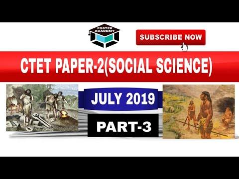 CTET PAPER-2 (SOCIAL SCIENCE), PART-3/ FOSTER ACADEMY