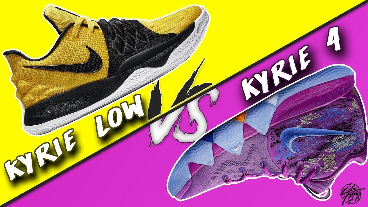 cf12a84f855 Nike Kyrie Low vs Kyrie 4! - YouTube