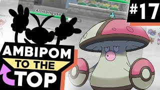 """AMBIPOM TO THE TOP (KINDA)!"" #17 Pokemon Ultra Sun & Moon! UU Showdown Live w/PokeaimMD"
