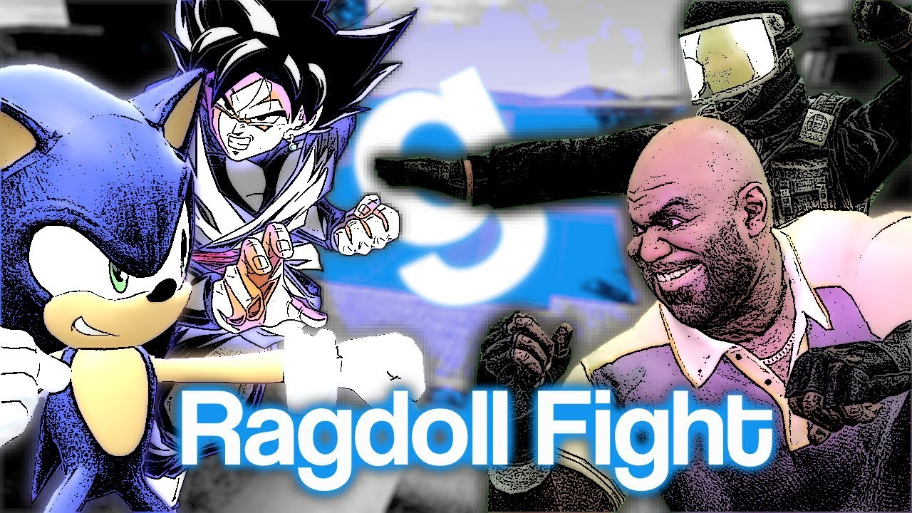 GMod | TOP 10 BRUTAL ANIME FIGHTS (Ragdoll Fight Montage)