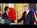 Trump looks to strengthen U.S. trade ties with Japan