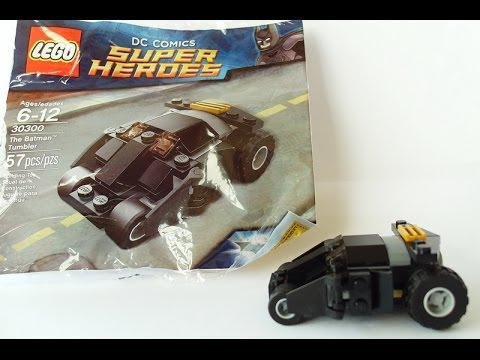 mini-review & build video - Lego Batman mini TUMBLER poly bag set ...