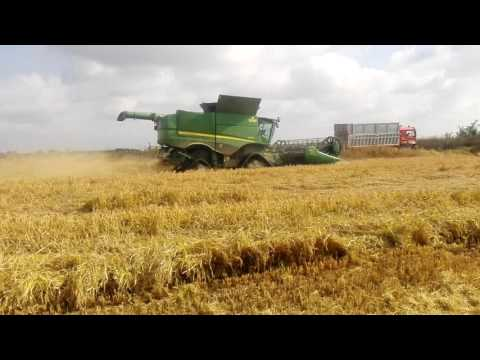 John Deere Rice Combine S680 & Camso Tracks system