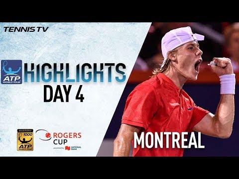 Highlights: Shapovalov, Federer, Zverev Win At Montreal 2017 Thursday