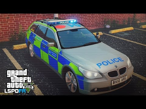 GTA 5 LSPDFR - TRAFFIC POLICE & PURSUITS - The British way #102