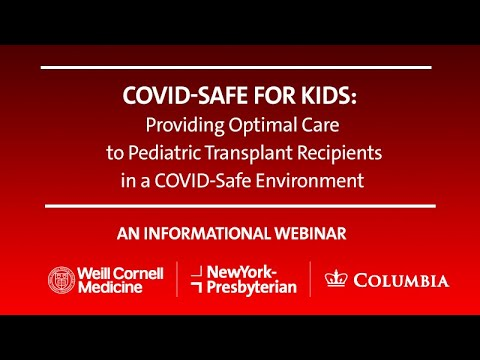 COVID-Safe For Kids: Providing Optimal Care To Pediatric Transplant Recipients In A Safe Environment