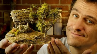 Making an *EASY* incredibly Realistic Miniature Diorama!!