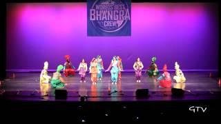 Rutgers University Bhangra @ Worlds Best Bhangra Crew 2013
