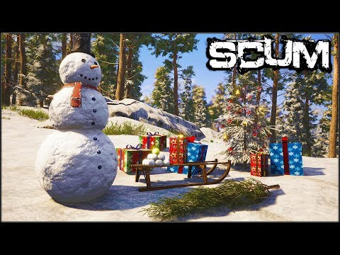 Scum - Base Fortifications + Christmas/Snow/ UPDATE - TOMORROW!