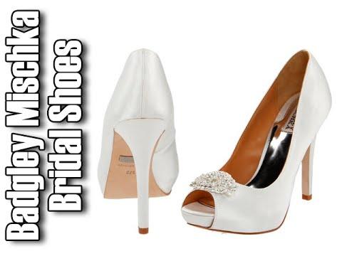 Marvelous Badgley Mischka Wedding Shoes|Badgley Mischka Bridal Shoes   YouTube