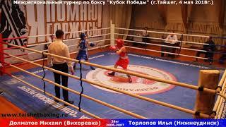 Долматов Михаил (Вихоревка) — Торлопов Илья (Нижнеудинск)