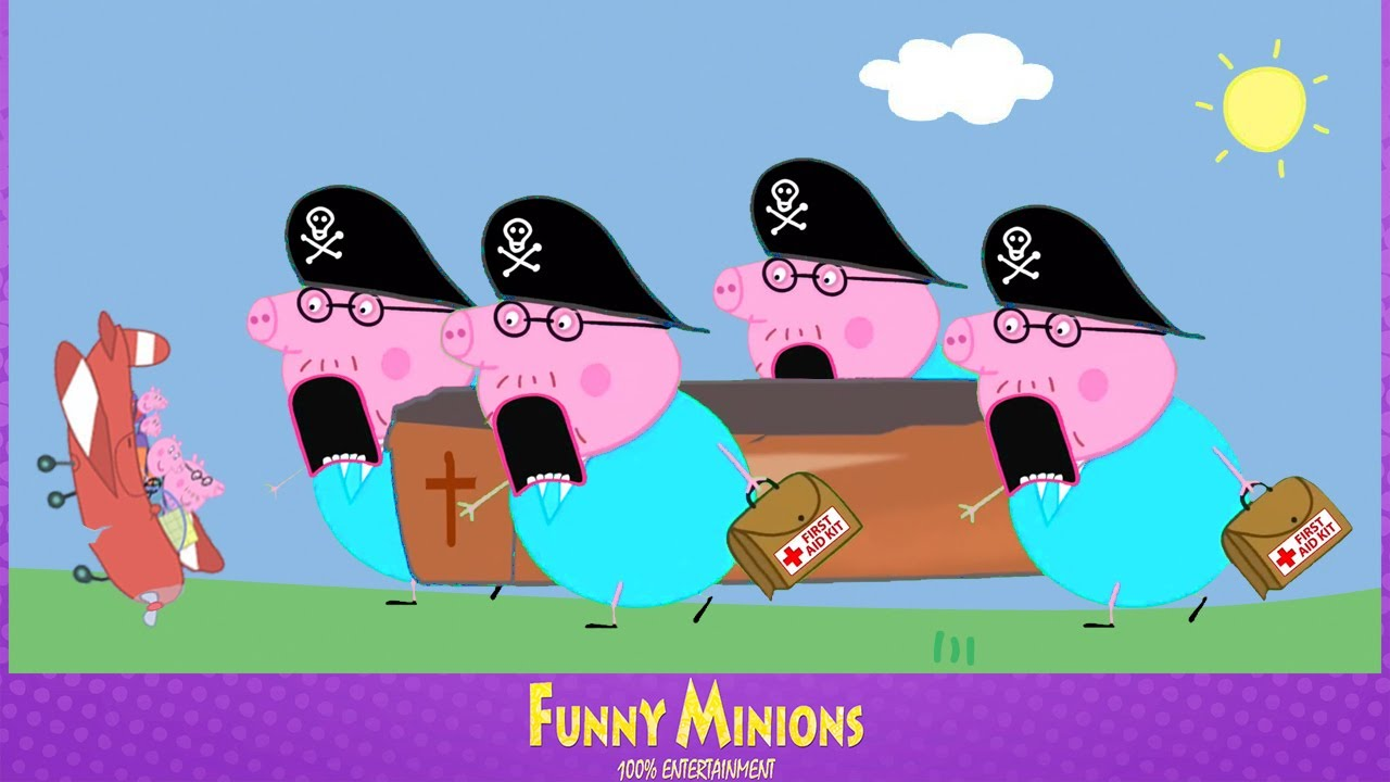 Peppa Pig Holiday Trip, but with Coffin dance