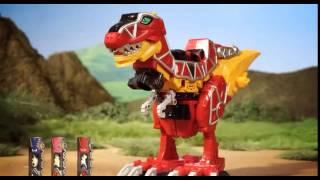 Dinossauro Rex - Tiranossauro Rex de Brinquedo - Power Rangers -