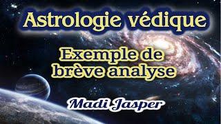Astrologie védique: exemple de brève analyse
