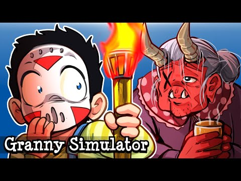 Granny Simulator | Custom cosmetics and a NEW Tiki Torch weapon!