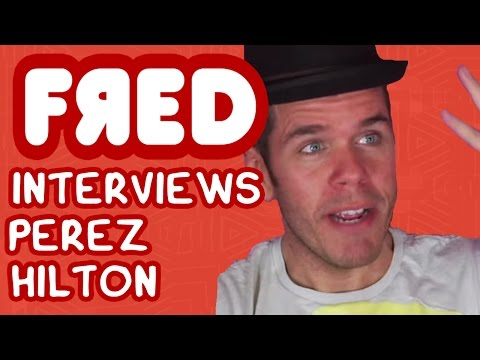 Fred Interviews Perez Hilton – Figgle Chat