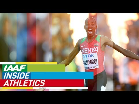 Inside Athletics 2018    Elijah Manangoi