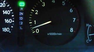 5A-Fe corolla 110 низкие обороты двигателя
