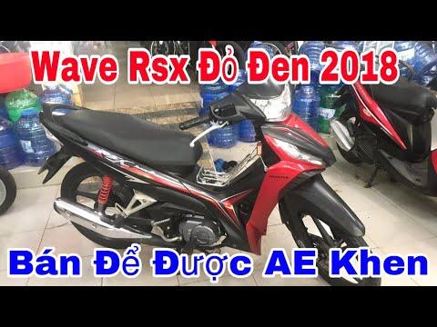 Xe Wave Rsx Fi đen đỏ 2018 Bán Để Được Anh Em Khen